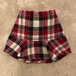 🛍 Girls est. 1989 Place Plaid Skirt
